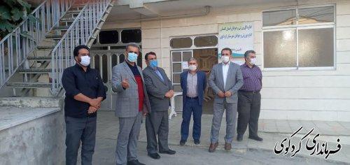 بازدید از صندوق ها و حوزه های رای گیری به اتفاق ملک حسینی مدیرکل اجتماعی و انتخابات استان
