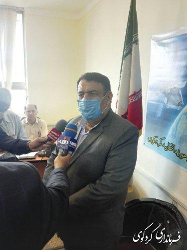 مصاحبه مطبوعاتی با تعدادی از خبرگزاری های استان