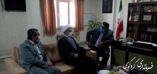 دیدار بازرس ویژه هیات مرکزی نظارت کشور به اتفاق بهمن نژاد رئیس هیات نظارت و بازرسی انتخابات استان