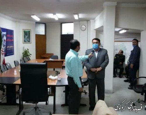 گفتگوی زنده تلویزیونی با فرماندار کردکوی