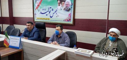 فرماندارکردکوی : عدم اعتقادات افراد چه در حوزه مدیریت و ... باعث فساد اداری خواهدشد