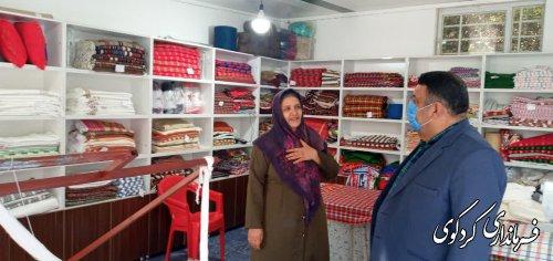 قدمنان فرماندارکردکوی از فروشگاه ونمایشگاه کارآفرین موفق شهرستان  بازدید  کردند.