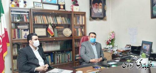 جلسه اقتصاد دانش بنیاد در جهش تولید استان با حضور  معاون  علمی و فناوری رئیس جمهور با فرمانداران