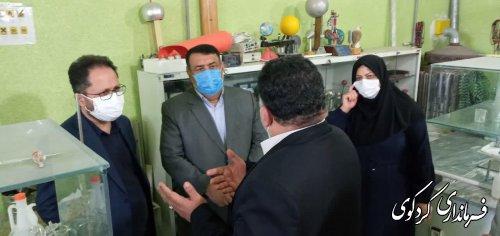 بازدید معاون مدارس و نوسازی کشور و فرماندار از مدارس تخریبی شهرستان کردکوی
