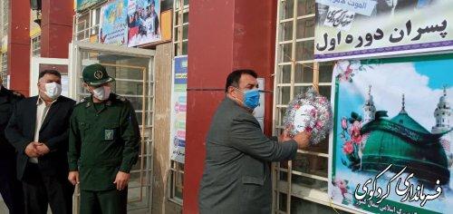 قدمنان فرماندار کردکوی: پایه های نظام جمهوری اسلامی بر قرآن،عترت، ولایت و مردم استواراست