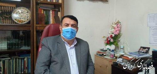 فرماندار کردکوی : خبر استعفایش کذب محض است.