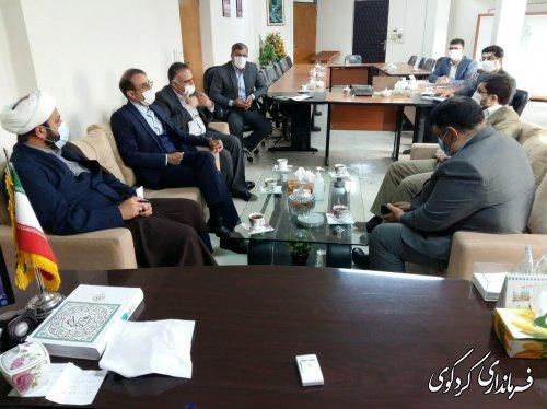 سرپرست بانک کشاورزی استان و هیات همراه با قدمنان فرماندار کردکوی دیدار و گفتگو کردند.