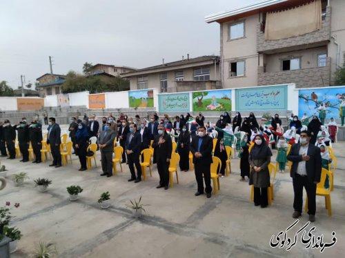 بهره برداری از دبستان شش کلاسه در روستای بالاجاده.
