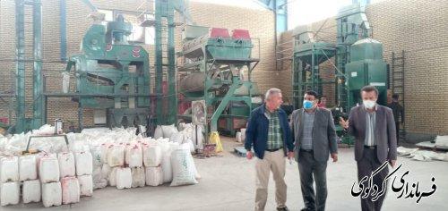 فرماندار شرکت واتاش شهرستان در روستای بالاجاده از نزدیک بازدید کرد.