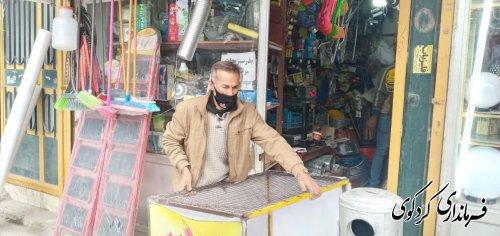 فرماندار کردکوی در راستای  پیشگیری و مقابله با بیماری کرونا  از بازارهای سطح شهر کردکوی بازدید کرد.