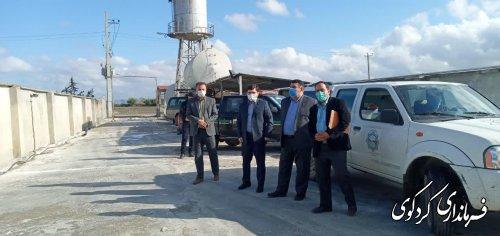 فرماندار کردکوی به همراه  دادستان شهرستان ازکشتارگاه مرغ و طیور و چندمرغداری سطح شهر و روستاها بازدیدکردند.