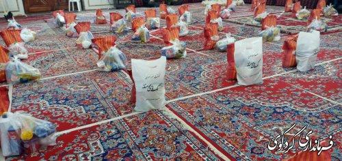 کمک های مومنانه در طرح محدودیتها بالغ بر ۱۰۰۰ بسته به نیازمندان اهدا شد