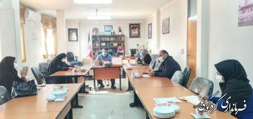 نشست  هماهنگی بین دستگاهی فنی حرفه ای با ادارات بهزیستی و کمیته امداد انجام شد