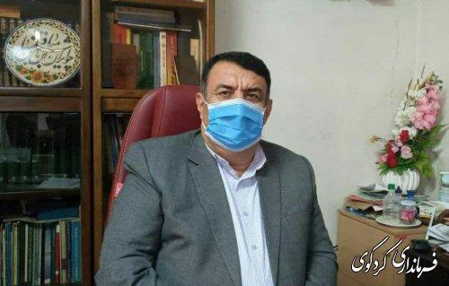 هشدار جدی قدمنان فرماندار کردکوی / با اشاره به وضعیت گسترش ویروس کووید ۱۹  شهرستان کردکوی  در وضعیت نامطلوبی قرار دارد،
