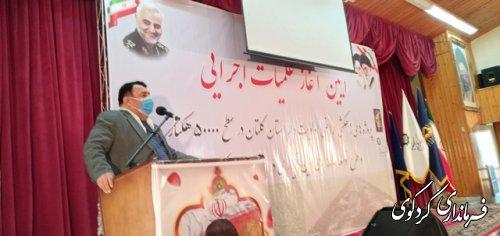 آئین متمرکز کلنگ زنی طرحهای زهکشی و آبیاری تحت فشار در اراضی کشاورزی استان گلستان در کردکوی برگزار شد.