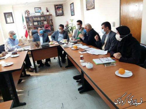 در نشست مشترک  فرماندار کردگوی با نماینده مردم غرب استان و مدیرکل مدیرکل صمت