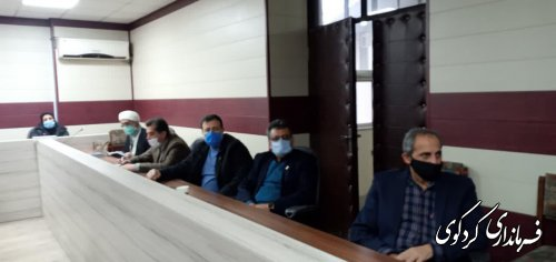 مراسم متمرکز سالگرد شهادت سپهبد شهید قاسم سلیمانی و همرانش با حضور استاندار و اعضای ستاد شهرستانی به صورت ویدئو کنفرانس