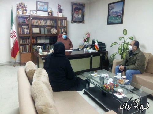 ملاقات تعدادی از شهروندان با فرماندار کردکوی