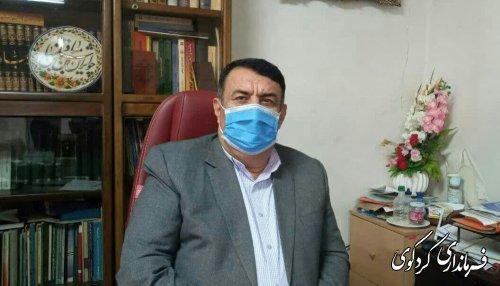 قدر دانی فرماندار کردکوی از مسئولان استانی و شهرستانی.