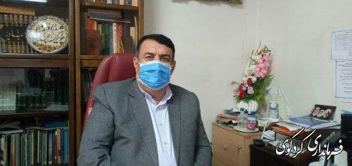 فرماندار کردکوی، بار دیگر همه شهروندان را به رعایت بیشتر پروتکلهای بهداشتی برای مقابله با کرونا فرخواند.