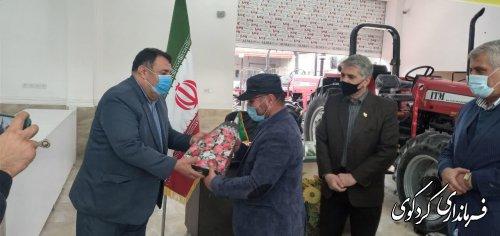 افتتاح نمایندگی فروش تراکتور  در شهرهای بندرگز ، نوکنده در کردکوی