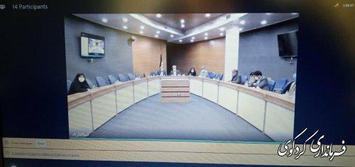 جلسه بیمه روستایی و عشایری باحضور معاون سیاسی امنیتی استاندار برگزارشد.