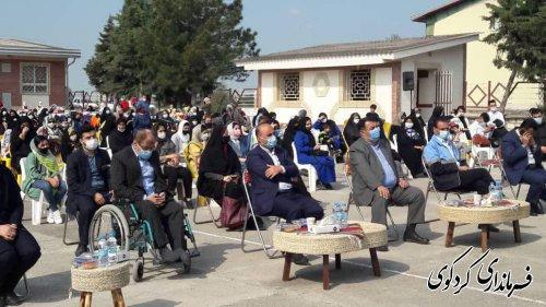 """جشنواره بزرگ فرهنگ، اقتصاد  روستاهای استان"""""""" در روستای مهترکلاته بخش مرکزی کردکوی برگزارشد."""