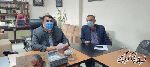 چهل و پنجمین نشست ستاد پیشگیری و مقابله با بیماری کرونای استان