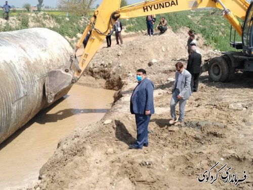 آغاز عملیات اجرایی ساخت جاده ارتباطی روستای مهترکلاته به بزرگراه کردکوی به گرگان با اعتبار ۷۶۰ میلیون تومان