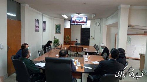ستاد پیشگری و مقابله با بیماری کرونای استان: محدودیت های مربوط به بیماری کرونا تا آخرهفته جاری تمدید شد.