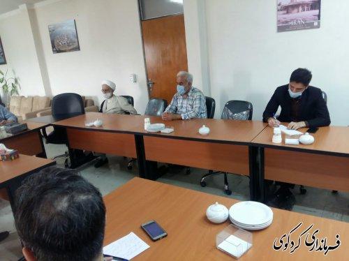 رئیس جهاد دانشگاهی استان و هیات همراه با فرماندار کردکوی دیدار و گفتگو کردند.