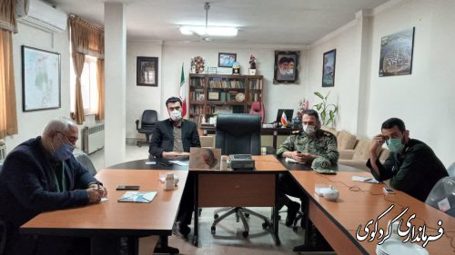 ویدئو کنفرانس نشست شورای هماهنگی حفظ آثار و نشر ارزشهای دفاع مقدس