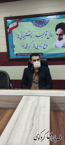 نخستین نشست ستاد اقامه نماز به ریاست بیدلی معاون سیاسی امنیتی فرماندار کردکوی