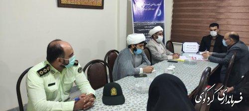 نشست سالانه زکات شهرستان به ریاست بیدلی معاون سیاسی امنیتی فرماندار کردکوی برگزار شد.