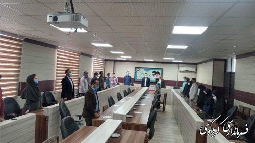 بیدلی معاون سیاسی امنیتی و اجتماعی فرماندار کردکوی: شبکه های اجتماعی صدای افراد خاموش جامعه باشند.