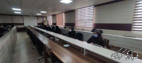 اولین جلسه گروه کاری مناسبتها به تصدی کمیته بانوان برگزار شد