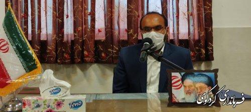 رئیس جدید دادگستری شهرستان کردکوی معرفی شد