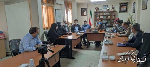 نشست مشترک اعضای هیات های بازرسی،اجرایی و نظارت ستاد انتخابات شهرستان کردکوی