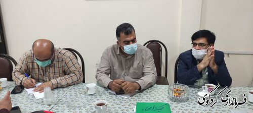 کمیته امحاء ستاد انتخابات شهرستان برگزار شد