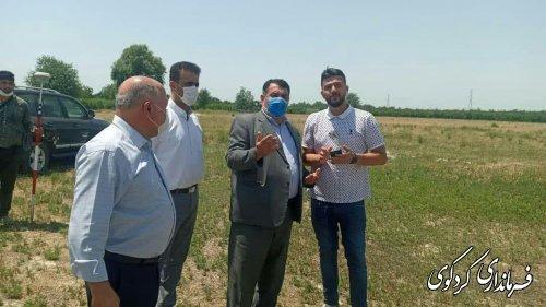عملیات اجرایی ساخت میدان بار غرب استان در شهر کردکوی شروع شد