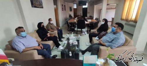 اعضای هیات مدیره شرکت تعاونی مرغداری های  شهرستان با قدمنان فرماندار کردکوی دیدار و گفتگو کردند.