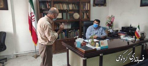 در ملاقات روز سه شنبه تعدادی از شهروندان با فرماندارکردکوی دیدار و گفتگو کردند.