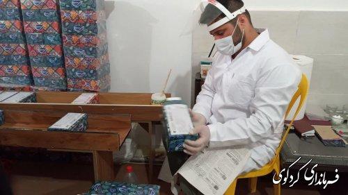 یک واحد تولیدی  دستمال کاغذی  توسط *مرکز خانه ترک رهایی *به بهره برداری رسید.