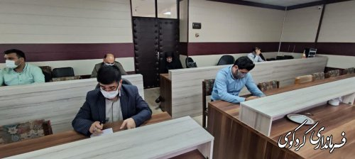 """اجرای طرح شهید شوشتری در محله """"حجت آباد """"شهر کردکوی ."""