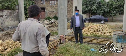 فرماندار کردکوی از پروژه در حال ساخت بازارچه دائمی صنایع دستی، اداره میراث فرهنگی،گردشگری و صنایع دستی این شهرستان بازدید کرد .