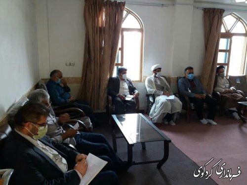 نشست اعضای شورای هماهنگی برنامه های دهه امامت و ولایت برگزار گردید.