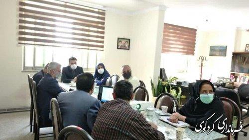 جلسه شورای هماهنگی ثبت احوال برگزار شد.
