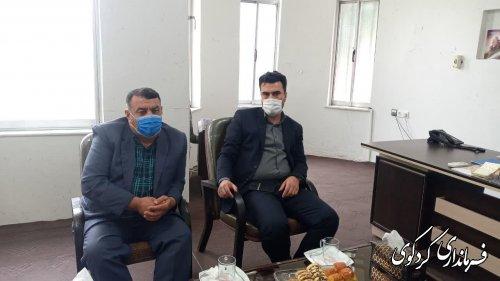 فرماندار کردکوی با اعضای دفتر شورای نگهبان این شهرستان دیدار کردند.
