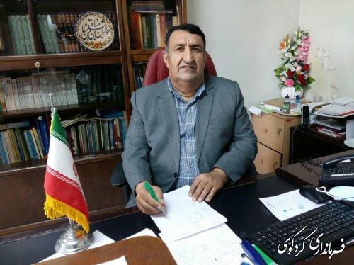 تبریک روز خبرنگار توسط فرماندار کردکوی