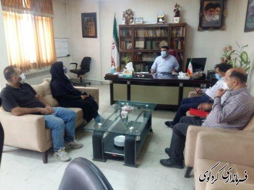 در دیدار و گفتگوی اعضای شورای اسلامی و دهیار روستای چهارده با فرماندار بررسی شد.